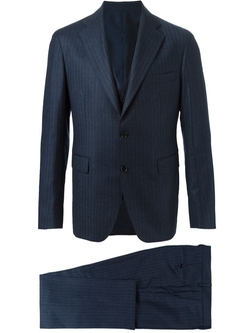 Tagliatore   - Striped Three Piece Suit
