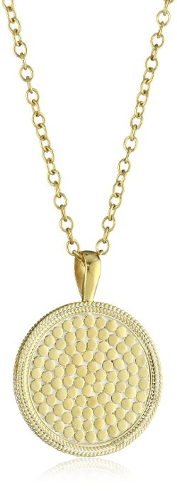 Anna Beck Designs - Medallion Pendant Necklace