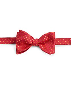 Eton of Sweden  - Dot Print Silk Bow Tie