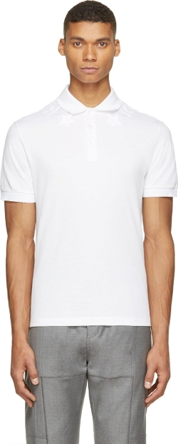 Givenchy - Classic Cuban Stars Polo  Shirt