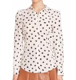 Rebecca Taylor - Dandelion Printed Silk Shirt