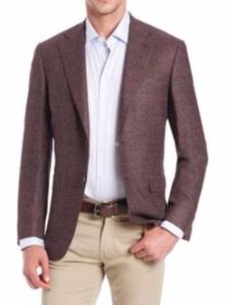 Canali  - Flecked Wool Blazer