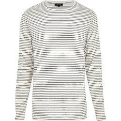 Ecru - Stripe Long Sleeve T-Shirt