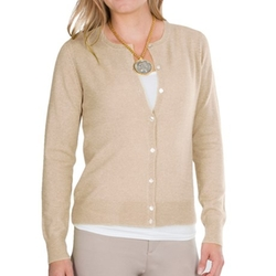 Sierra Trading Post - Pointelle Cardigan Sweater