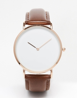 Asos - Reclaimed Vintage Leather Strap Watch