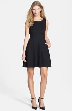 Rachel Roy  - Cutout Back Fit & Flare Dress