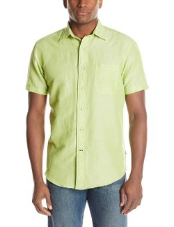 Nautica  - Short-Sleeve Solid Dress Shirt