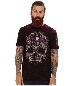 Affliction  - Dead Head S/S Reversible Tee