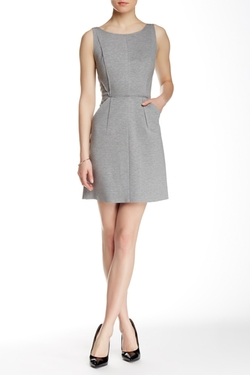 Milly  - Seamed Pleated Dress