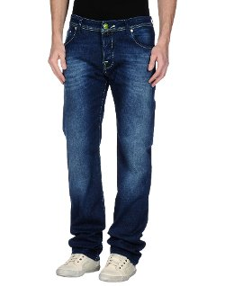 Jacob Cohen  - Dark Wash Denim Pants