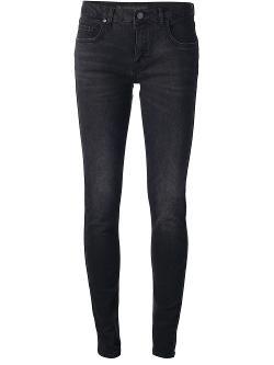 Victoria Beckham  - Denim Skinny Leg Jean