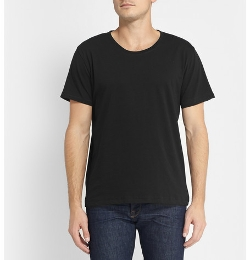 Nudie Jeans   - Fairtrade Organic Cotton-Jersey Crew Neck T-Shirt