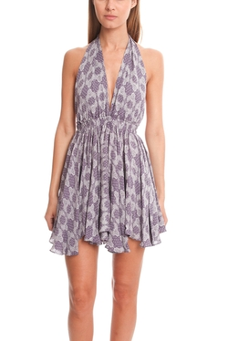 LoveShackFancy  - Halter Mini Dress