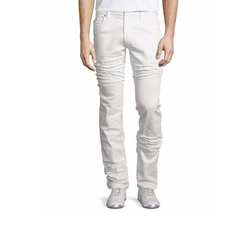 Maison Margiela  - Five-Pocket Straight-Leg Stretch Jeans