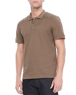Belstaff  - Aspley Textured Jersey Polo