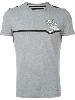 Iceberg   - Donald Duck Chest Print T-Shirt