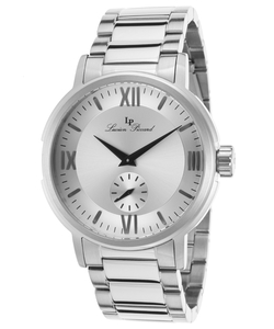 Lucien Piccard - Bremen Silver-Tone Dial Watch