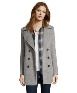 Marc New York  - Brushed Wool Effie Double Breasted Coat
