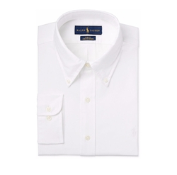 Polo Ralph Lauren - Slim-Fit White Solid Dress Shirt