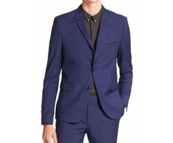 The Kooples  - Solid Stretch Two-Button Wool Sportcoat