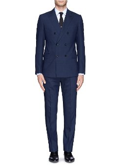 Armani Collezioni - Virgin Wool Double Breasted Suit