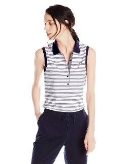 Lacoste - Stretch Pique Stripe Slim Fit Polo Shirt