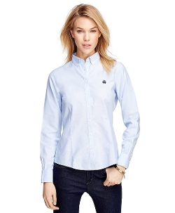 Brook Brothers - Petite Tailored Fit Supima Shirt