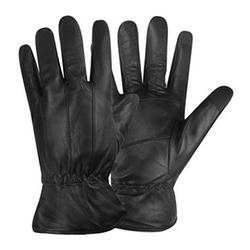 Stafford - Leather Fleece-Lined Texting Gloves