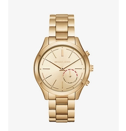 Michael Kors - Slim Runway Gold-Tone Hybrid Smartwatch