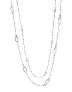 Ralph Lauren - Faux Pearl Illusion Necklace