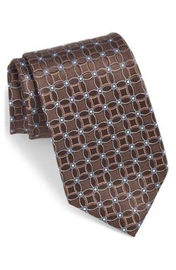 Nordstrom - Medallion Silk Tie