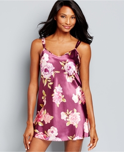 Morgan Taylor - Floral Satin Chemise