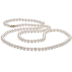 Pure Pearls - Akoya Cultured Pearl Necklace