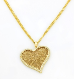 Anastazio  - Nude Love Gold Pendant Necklace