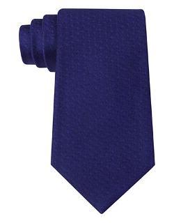 Calvin Klein - Classic Fit Foliage Silk Jacquard Tie
