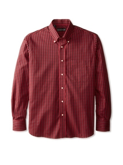 Kenneth Gordon - Check Button Down Sportshirt