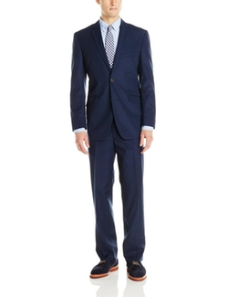 U.S. Polo Assn. - Two Button Solid Cotton Nested Suit