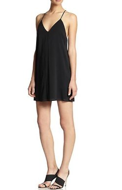 Alice + Olivia - Fierra Y-Back Tank Dress