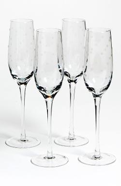 Kate Spade New York - Larabee Dot Champagne Flutes