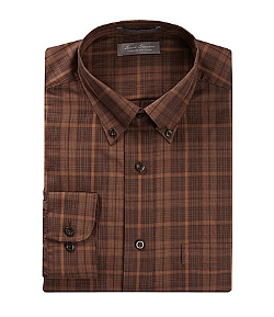 Daniel Cremieux - Signature Long-Sleeve Twill Plaid Shirt