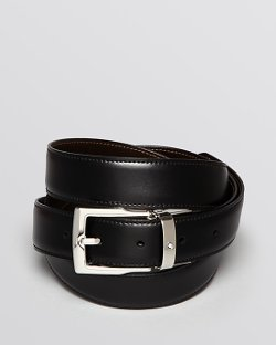 Montblanc  - Rectangular Buckle Reversible Belt