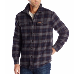 Field & Stream - Plaid Sherpa Lined Shirt Jacket
