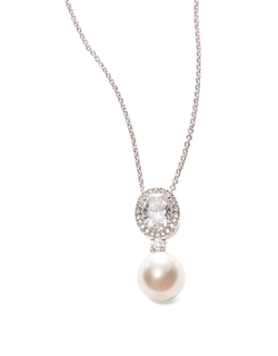 Nadri Faux - Pearl Pendant Necklace