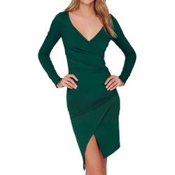 E.Jan1st  - Bodycon Wrap Dress