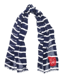 Ralph Lauren - Victoria Striped Scarf