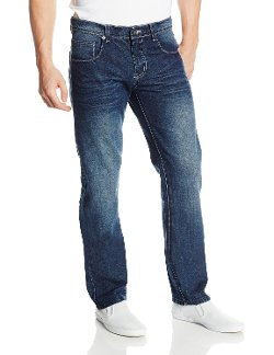 Southpole - Slim Straight Fit Washed Denim Jean