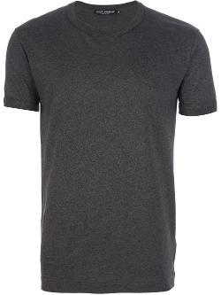 DOLCE & GABBANA - classic crew neck t-shirt
