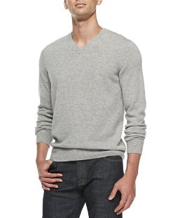Vince	  - Wool Blend V-Neck Sweater
