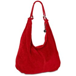Caspar Fashion - Suede Leather Handbag