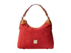 Dooney & Bourke  - November Suede Hobo Bag
